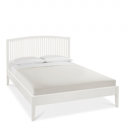 Ashby White Painted Double Bedstead
